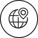 gps, justice, law, lawyer, legal, line, location icon