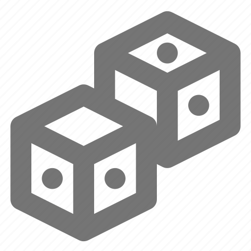 dice, gambling icon