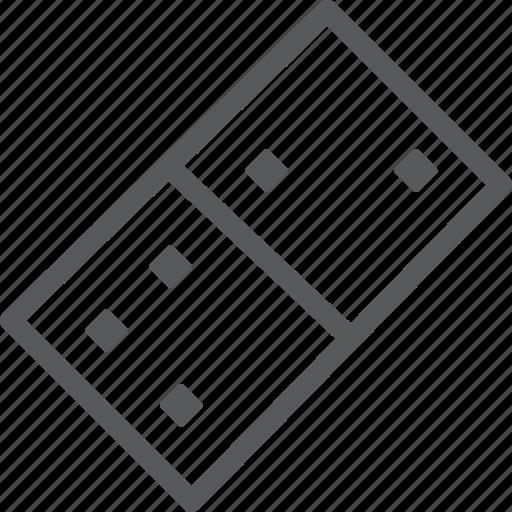 domino, element, entertainment, free time, fun, leisure, piece, strategy icon
