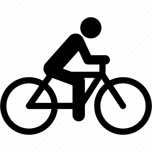 bike, biker, bycicle, cyclism, cyclist, mobility, transport icon