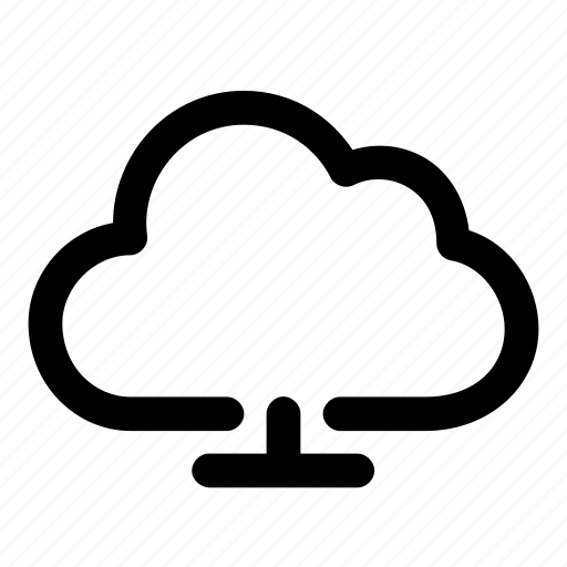 cloud, connection, network, weather, web icon