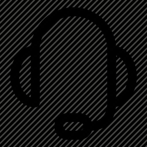 chat, customer, headphone, service, talk icon