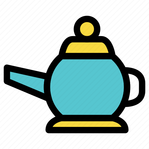 cook, cup, dinner, drink, kettle, kitchen, tea icon