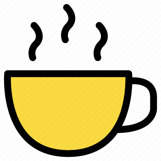 beverage, coffee, cup, glass, hot, kitchen, tea icon