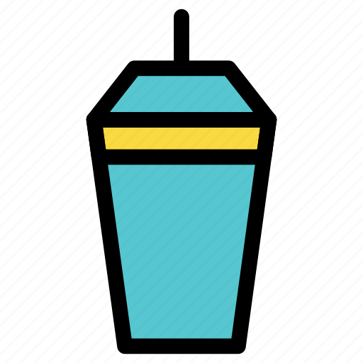 beverage, bottle, cafe, coffee, cup, drink, glass icon