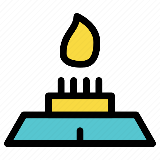 chef, cook, cooking, fire, flame, kitchen, stove icon