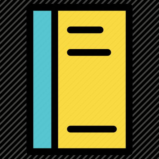 appliance, book, education, knowledge, recipe book, university icon