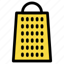 cheese grater, cook, dinner, grater, kitchen, supplies icon
