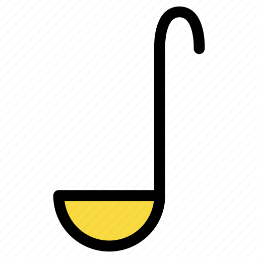 appliance, chef, cook, kitchen, ladle, soup, utensil icon