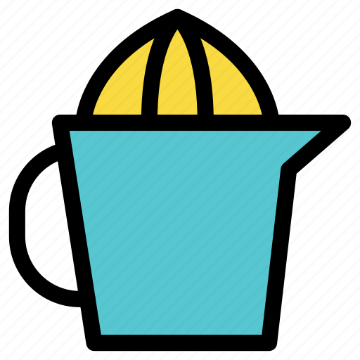 cook, cup, dinner, kitchen, lemon pitcher icon
