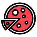 food, italian, meal, pizza icon
