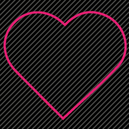 heart, love, sex, valentines icon