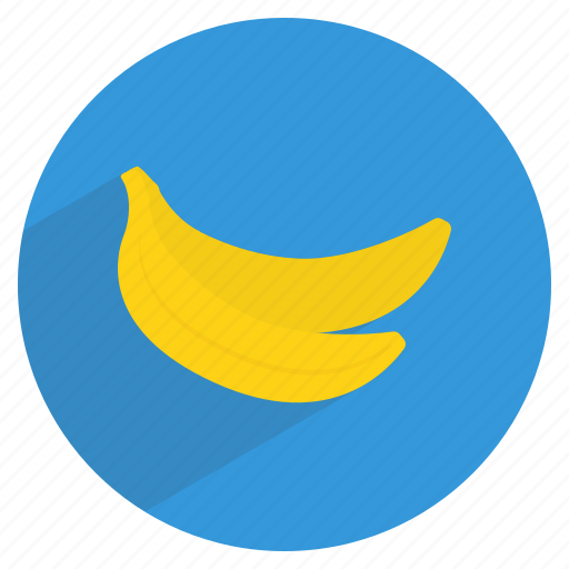 banana, edible, food, fresh, fruit, healthy, plantain icon