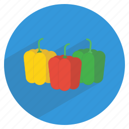 bell, food, fresh, fruit, healthy, pepper, vegetable icon