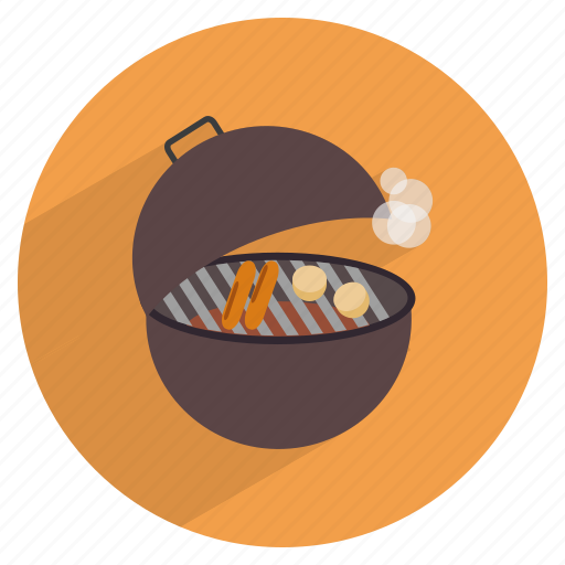 barbecue, barbeque, cooking, grill, potato, restaurant, smoke icon