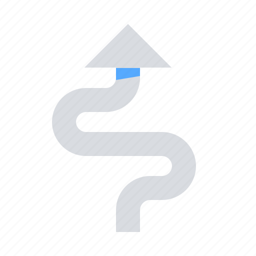 Arrow, direction, path icon - Download on Iconfinder