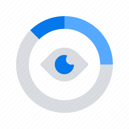 Analytics Data Diagram Eye Icon
