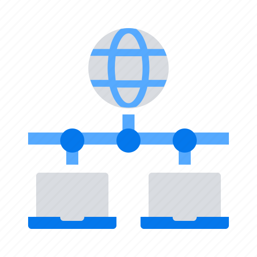 network, shared, web icon