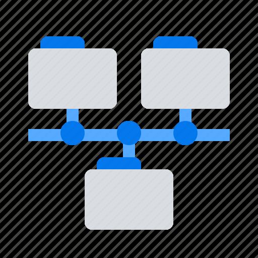 folder, plurality, variety icon