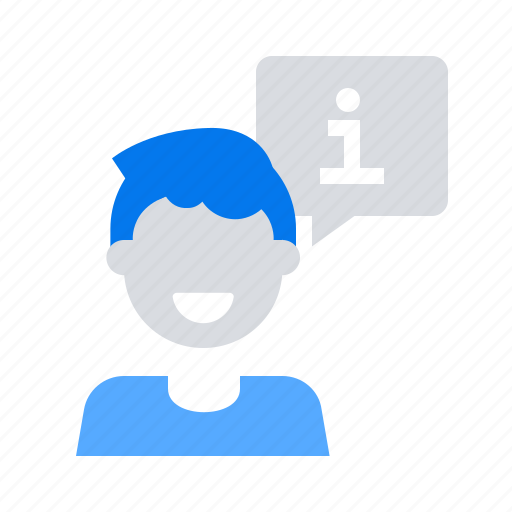 Consultant, information, support icon - Download on Iconfinder