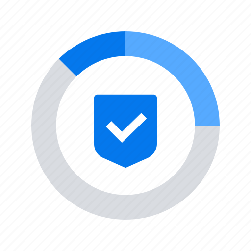protection, report, shield icon