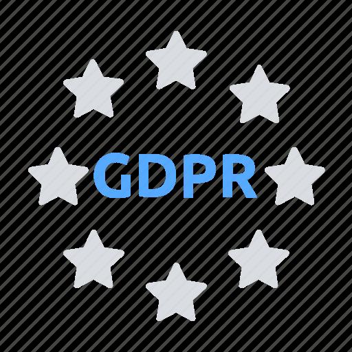 compliance, data protection, eu, gdpr icon