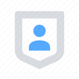 personal, protect, protection, shield icon