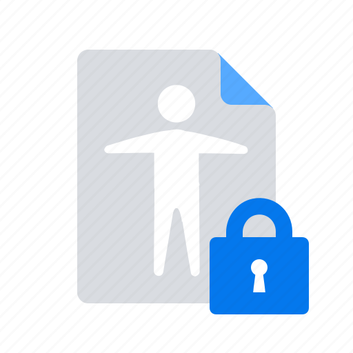 access, document, personal data icon
