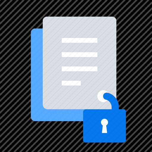 accessebility, documents, integrity, lock icon