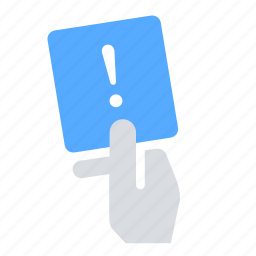 notice, penalty, sanction, warning icon