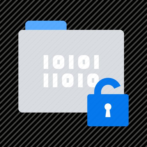 access, breaches, data, folder icon