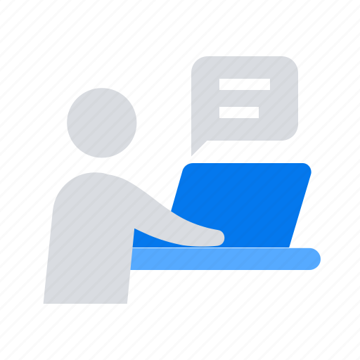 Education, laptop, studying icon - Download on Iconfinder