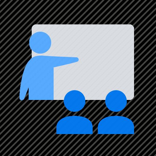 lecture, presentation, teaching icon