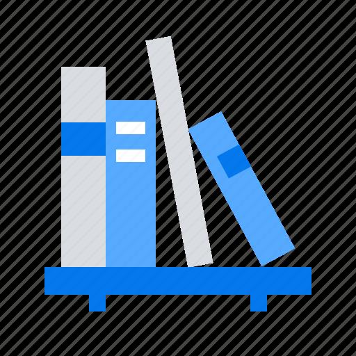 book, library, shelf icon