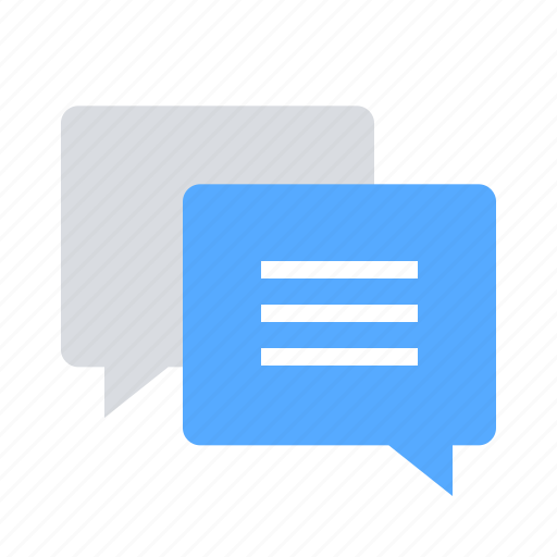 bubble, chat, comment, communication, dialogue, messages, talk icon