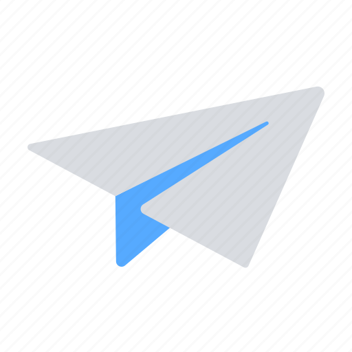 email, paper plane, send, sent icon