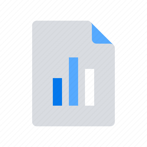 analytics, business, chart, document, file, sales report, statistics icon