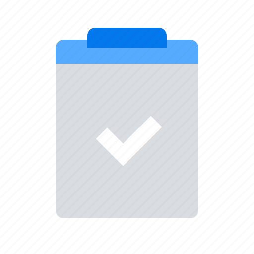 checkmark, clipboard, complete, done, list, tasks, todo icon