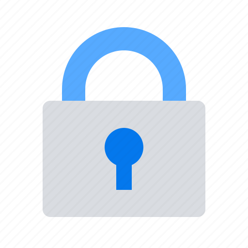closed, lock, locked, private, safe, secure, security icon