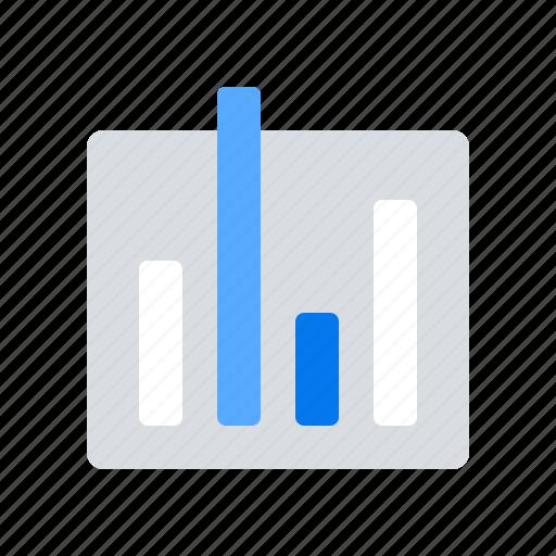 analytics, bar chart, graph, statistics icon