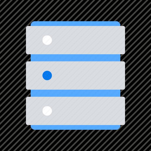 Hosting, server, database icon - Download on Iconfinder