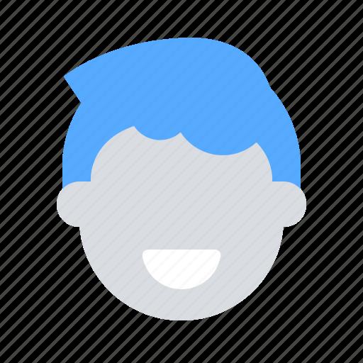 account, avatar, boy, face, head, male, man icon