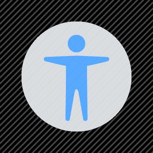 account, avatar, body, male, man, profile, user icon