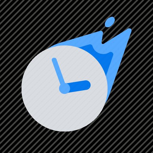 deadline, efficiency, time management icon