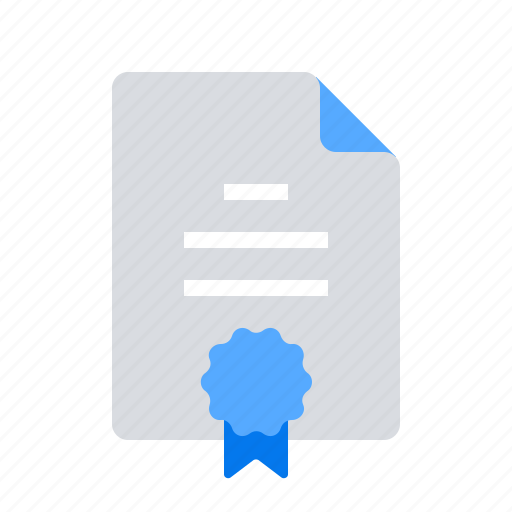 agreement, certificate, contract, guarantee icon
