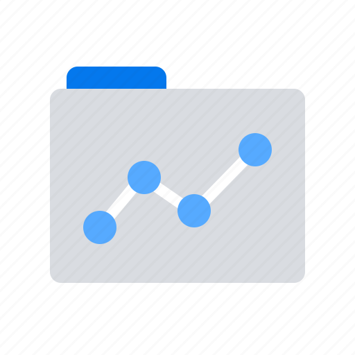 Folder, report, statistics icon - Download on Iconfinder