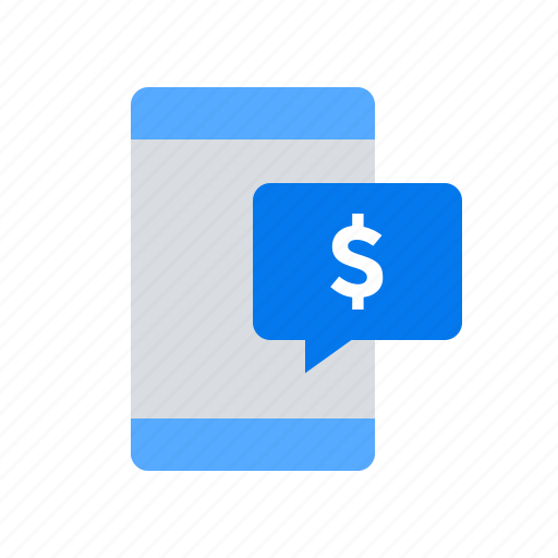 mobile, money, payment icon