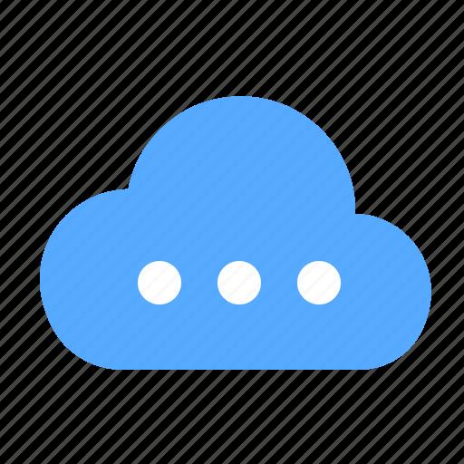 cloud, server, storage icon