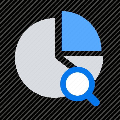 competitive, report, search icon