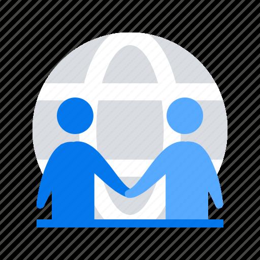 agreement, deal, handshake, partnership icon